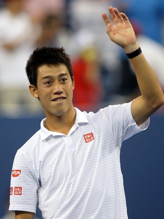 2014-09-03 Kei Nishikori