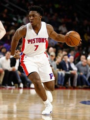 Stanley Johnson's offense has tailed off in his season.