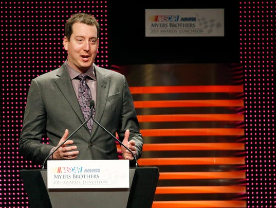 12-3-2015 kyle busch myers brothers luncheon
