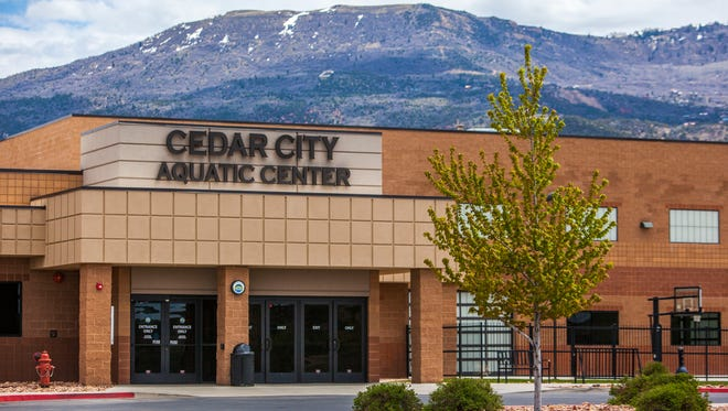 Cedar City Aquatic Center, Tuesday, May 10, 2016.