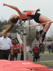 Galion's Marissa Gwinner will be the favorite to win the high jump and a strong competitor for the long jump at the MOAC meet Thursday.