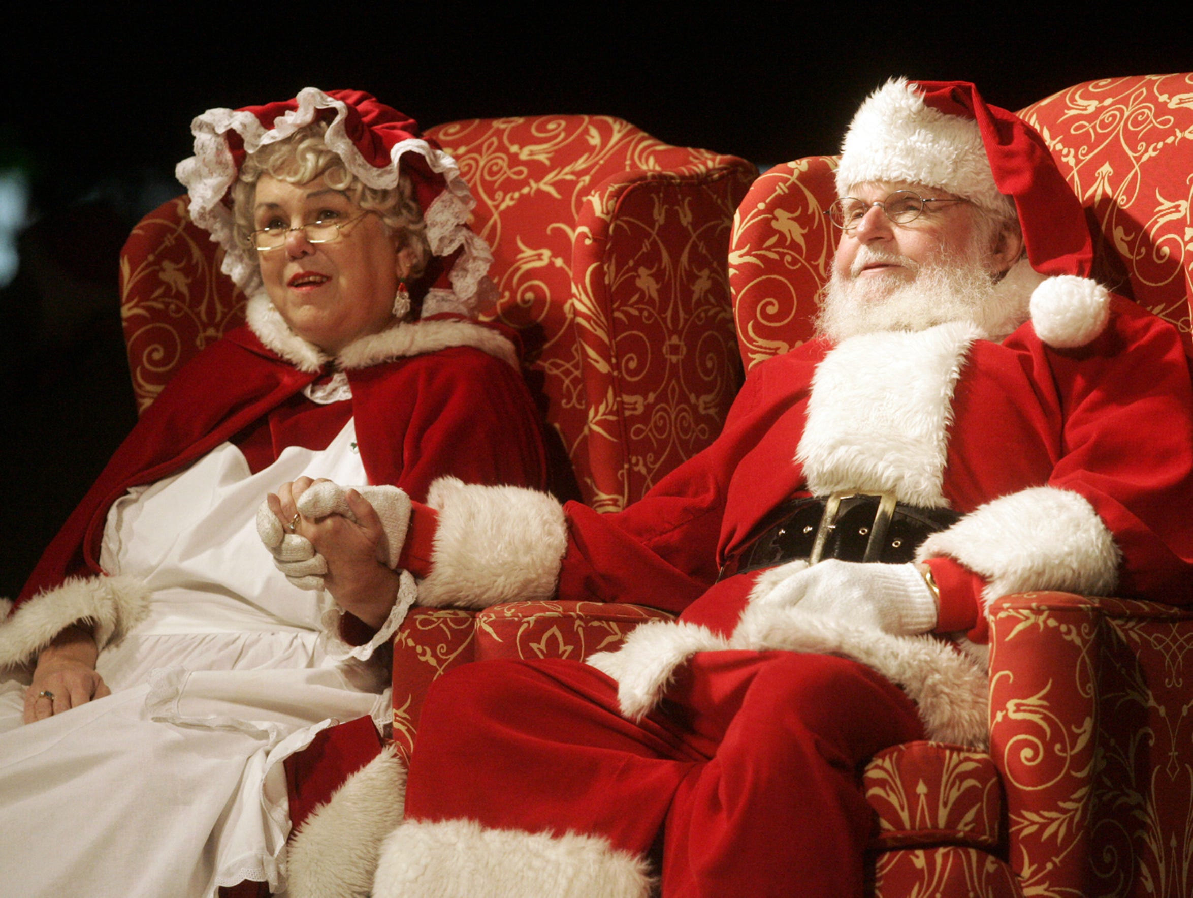 Santa and Mrs. Claus will be available for photos and