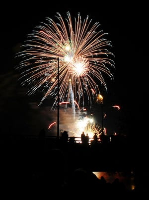 Festival Foods Fire Over the Fox culminates Saturday night with fireworks in downtown Green Bay.