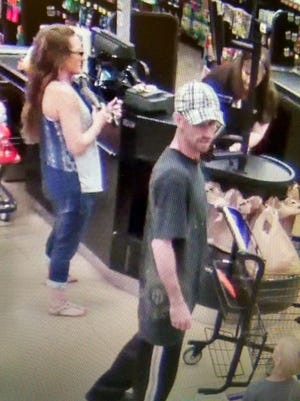 David and Michelle Shook were placed on the Baxter County Sheriff's Office most wanted list Monday.