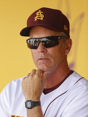 Tracy Smith showed an aggressive coaching style and extensive use of his lineup in his first weekend as ASU baseball coach.