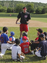 Bill Dreisbach at a youth camp in 2011.