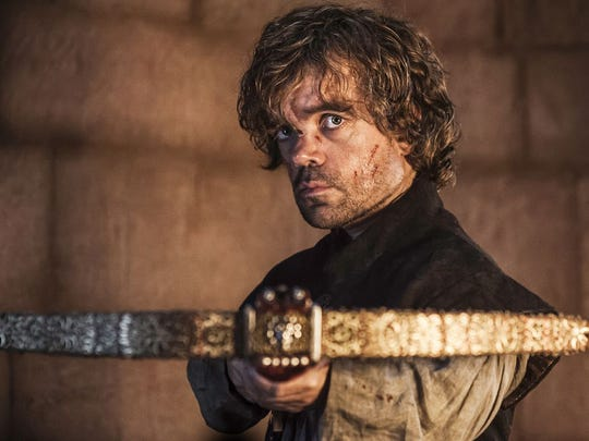 Tyrion (Peter Dinklage) kills his father, Tywin, in