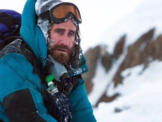 "In ""Everest,"" Jake Gyllenhaal attempts to climb, you"