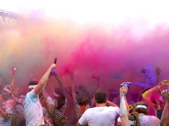 The Color Run is April 30 in downtown Springfield
