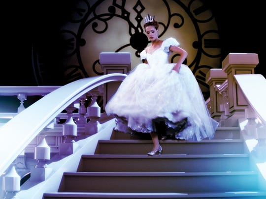 """A scene from the Broadway musical """"Cinderella"""""""