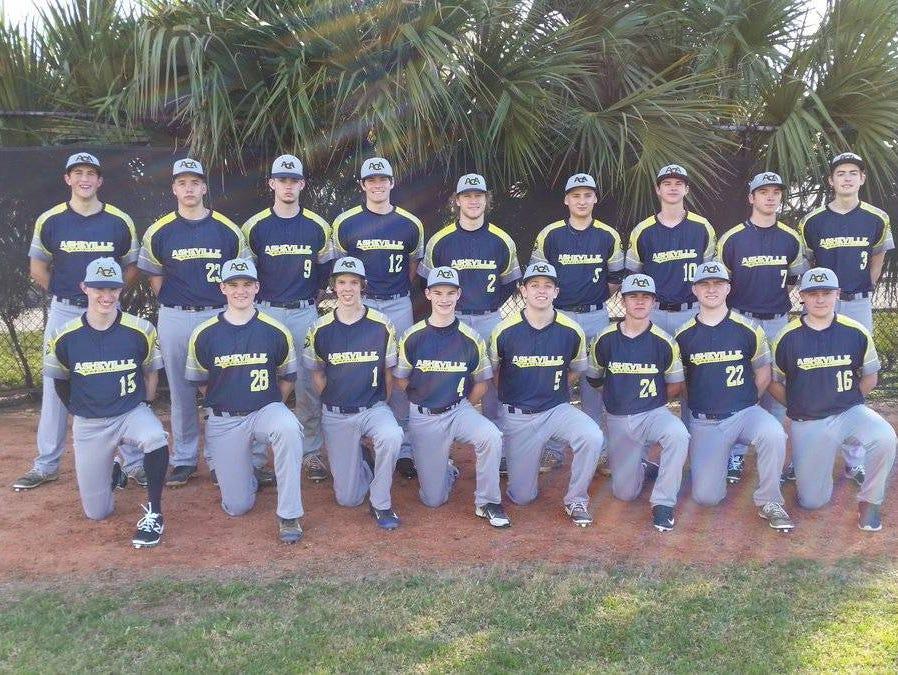 Asheville Christian Academy's baseball team.