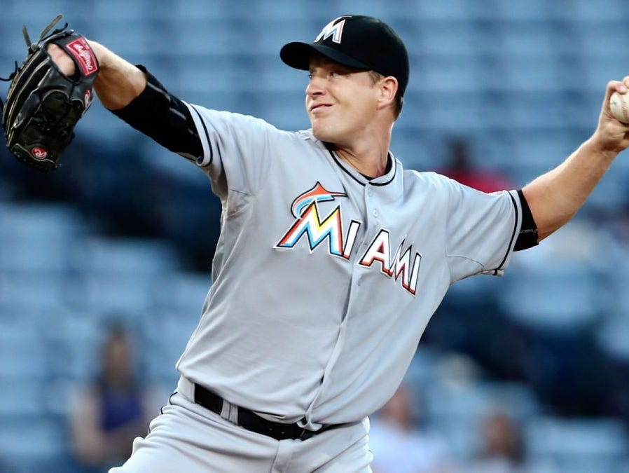 Roberson alum Chris Narveson is a pitcher in the Miami Marlins organization.