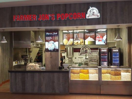 Farmer Jon's Popcorn at The Marketplace Mall.