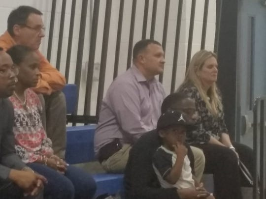 Commissioners Jeremiah Johnson and Cathy Townsend are also in attendance at a DOJ listening session Feb. 8 in Fort Pierce.