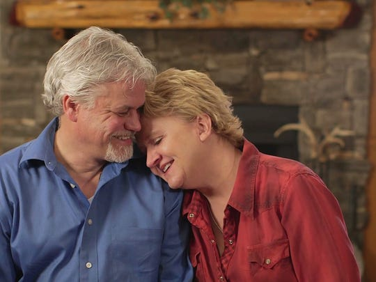 David and Chonda Pierce in an interview they did for