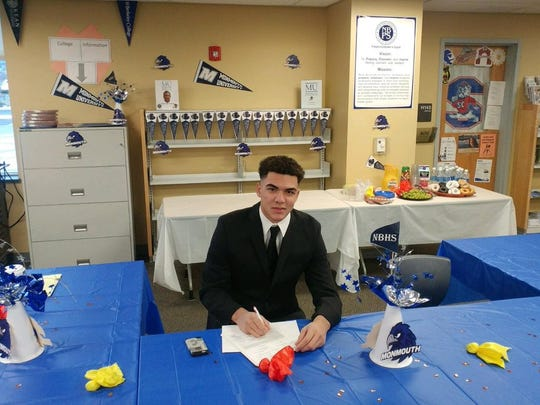 German Pimentel signs a National Letter of Intent with Monmouth University
