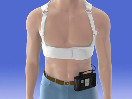 The ZOLL LifeVest that saved Russell Stilwell's life.