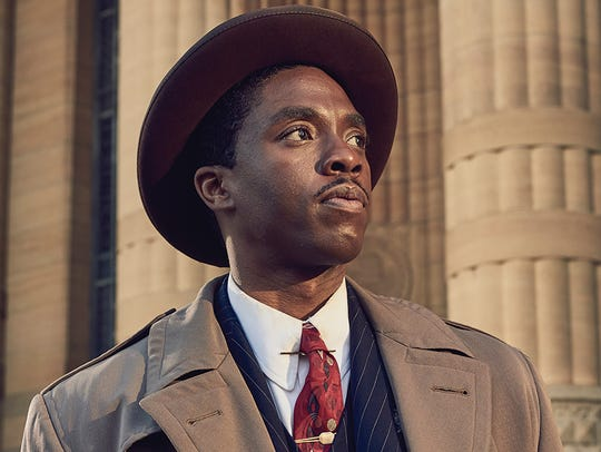 Chadwick Boseman is the crusading young Thurgood Marshall