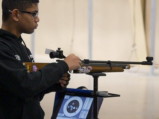 Schools, clubs and individuals are welcome to participate in the annual air rifle match.