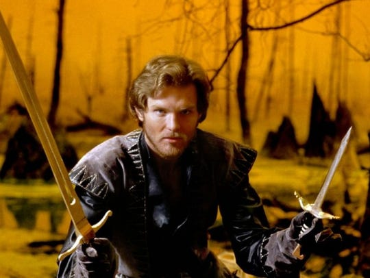 "Ken Marshall is the swashbuckling star of ""Krull,"""