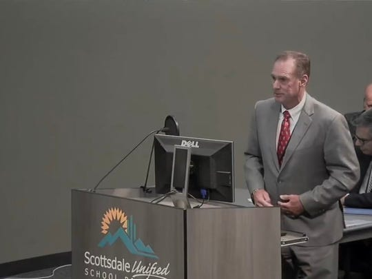 Scottsdale Unified School District interim Superintendent