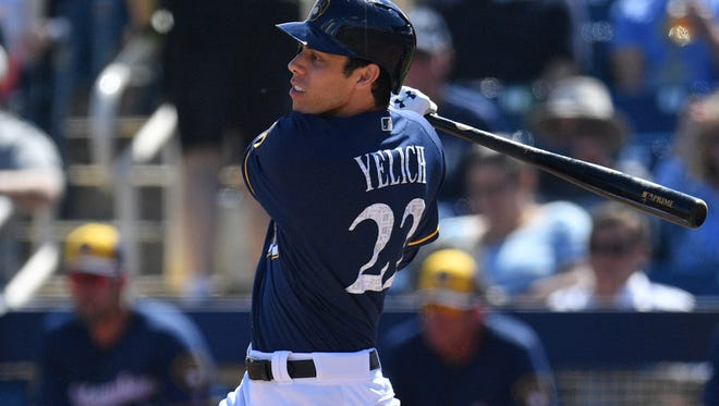 The Brewers traded three of their top 10 prospects for Christian Yelich.