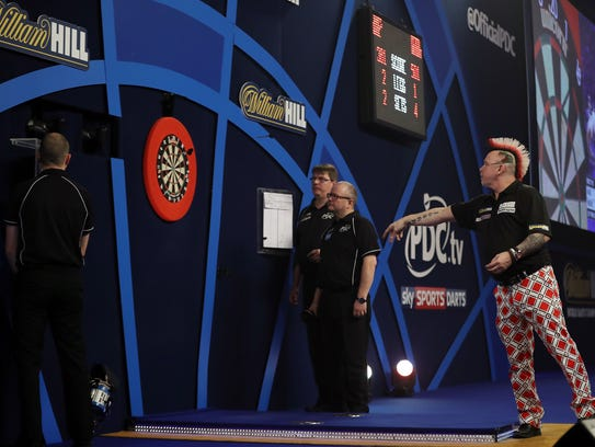 Professional darts is popular among bettors in the U.K.