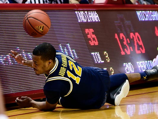 NCAA Basketball: Michigan at Indiana