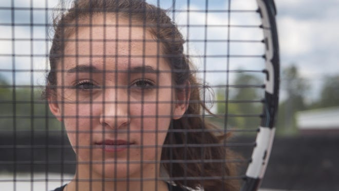 Lincoln senior Paige Nicholson is the All-Big Bend Player of the Year for the second straight year after winning back-to-back city titles and making a run to the state semifinals in doubles.