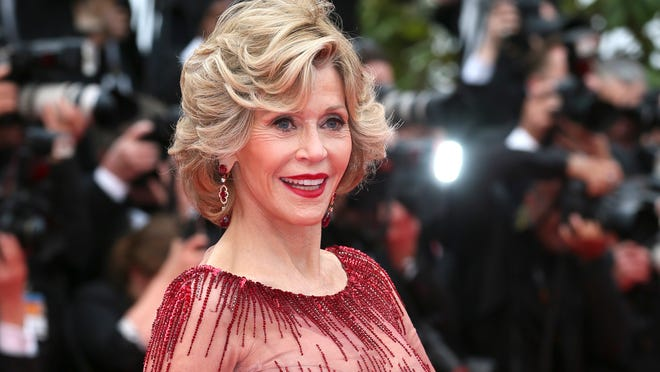 Jane Fonda in Cannes on May 14.