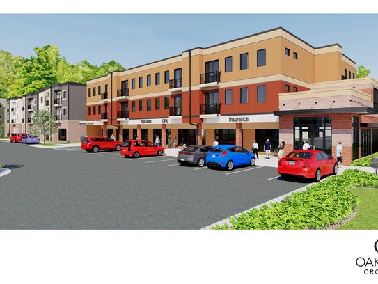 This rendering shows the proposed look of Oakridge