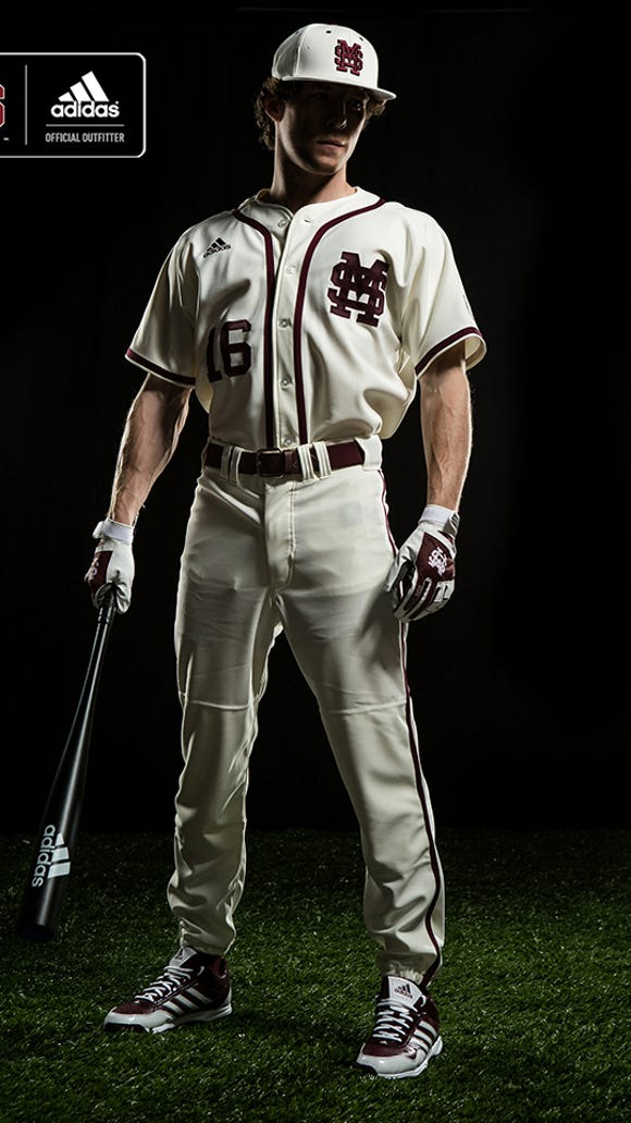 New Mississippi State Adidas uniforms.