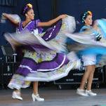 Sonidas y Movimirntos de Mexico perform at  Mexican Fiesta in 2015.