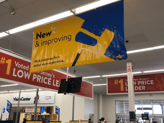 walmart renovating howell  brick stores  see the changes