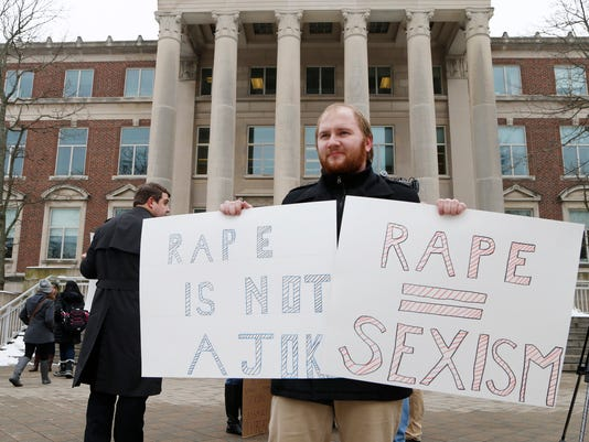 LAF Students rally against sexual assault