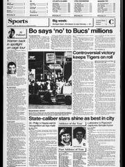 Battle Creek Sports History: Week of June 23, 1986