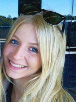 Lauren Spierer, shown in this undated photograph, went missing in 2011. She was a student at Indiana University. The FBI says there may be a new lead.