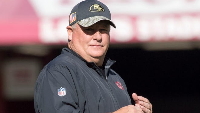 Chip Kelly coached four seasons in the NFL after a stint at Oregon.