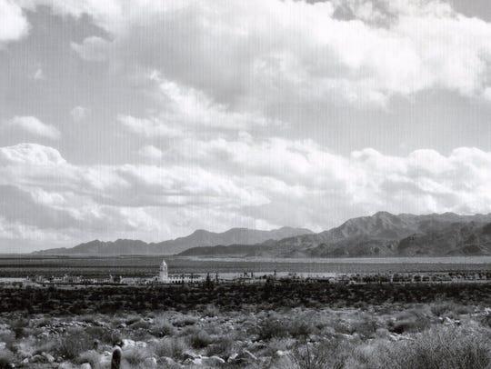 El Mirador Hotel and airstrip c. 1928.