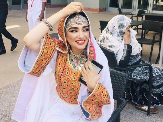 Fara Arefi of Gilbert made a choice to start wearing