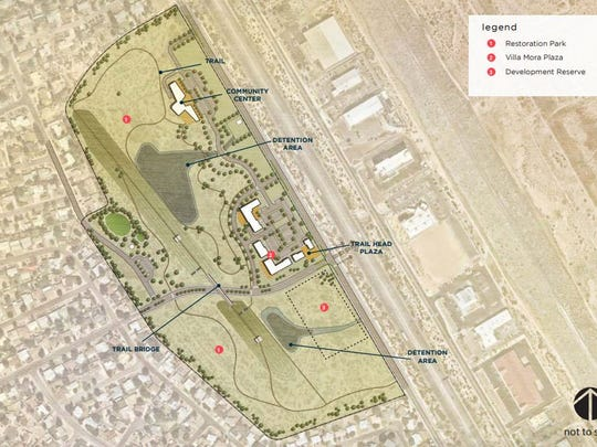 The Apodaca Blueprint presents this conceptual plan for the Villa Mora property.