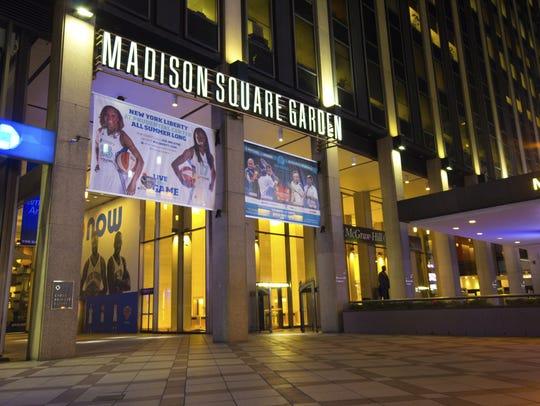 New York City's landmark arena, opened to the public
