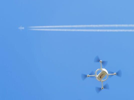 EPA SWITZERLAND POSTAL DRONE SCI TECHNOLOGY (GENERAL) SWI