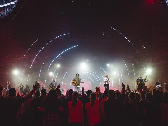 Hillsong comes to Greenville April 7 as part of the Outcry Tour.