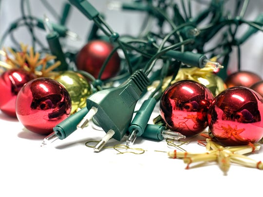 Christmas lights are a staple of the holiday season, but users should be cautious about overloading extension cords and electrical outlets.