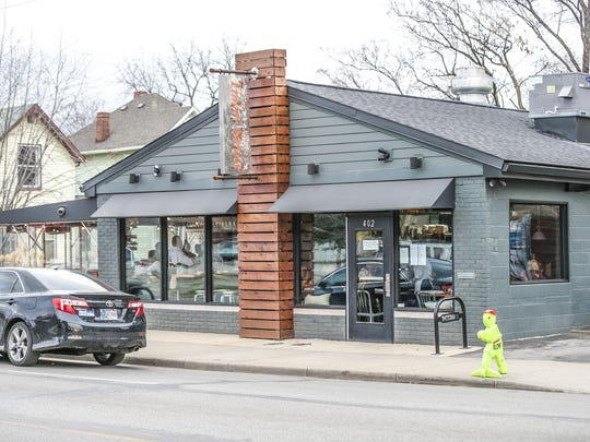 Tinker Street Restaurant and Wine Bar is located at 402 E. 16th St.
