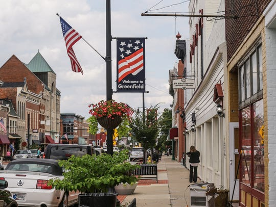 Main St. in Greenfield will be the location for Five