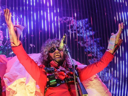 The Flaming Lips will perform at the Farm Bureau Insurance Lawn at White River State Park on July 26.