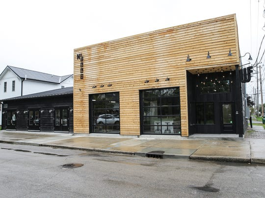 West Fork Whiskey Co. tasting room, 1660 Bellefontaine St. in Indianapolis on Monday, Oct. 30, 2017.