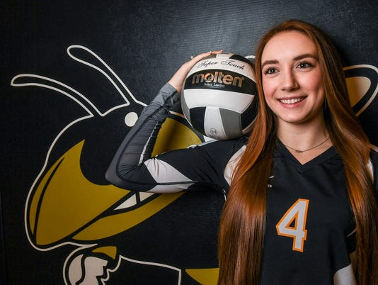 Independent Mail volleyball player of the year